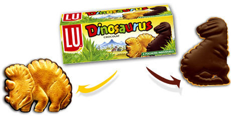 biscuits dinosaurus