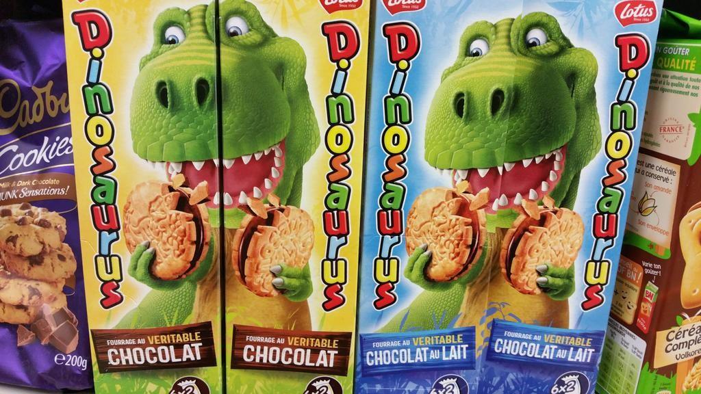 gateaux dinosaurus