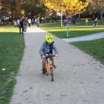 Il n'est jamais trop tard pour apprendre à faire du vélo