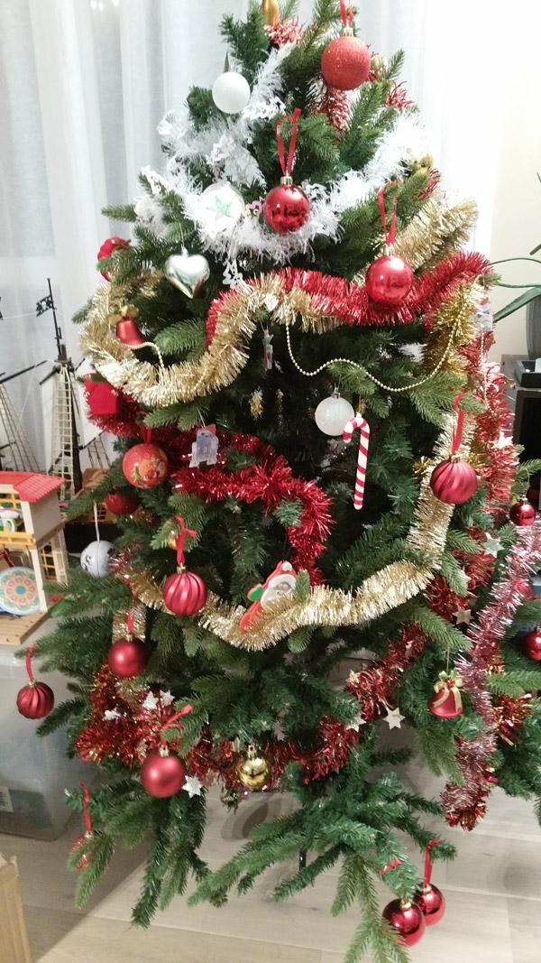 Sapin De Noel Tout Decore