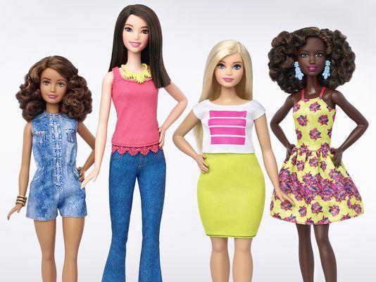 Barbie-2016 grande grosse petite