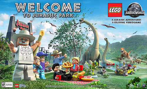 jeu lego jurassic park