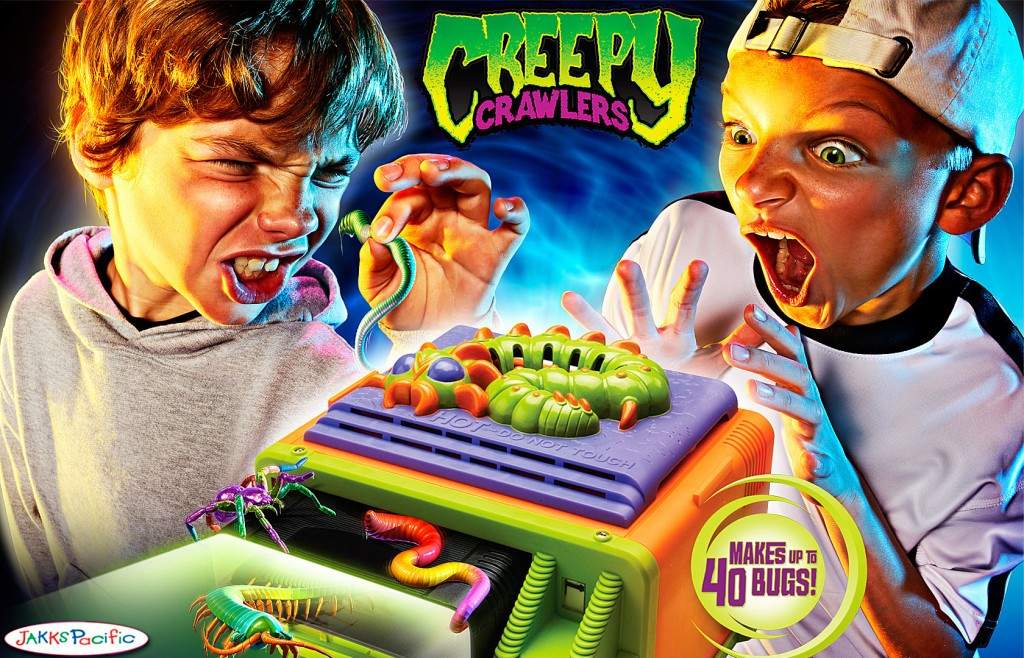 creepy crawlers jeu mattel