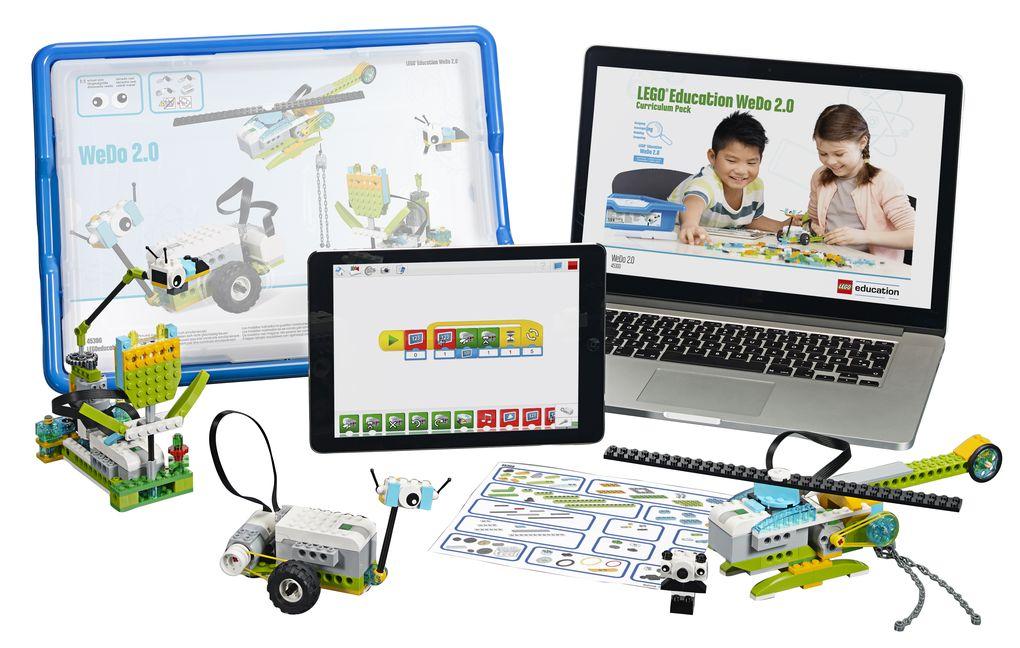 lego wedo robotique programmation enfants