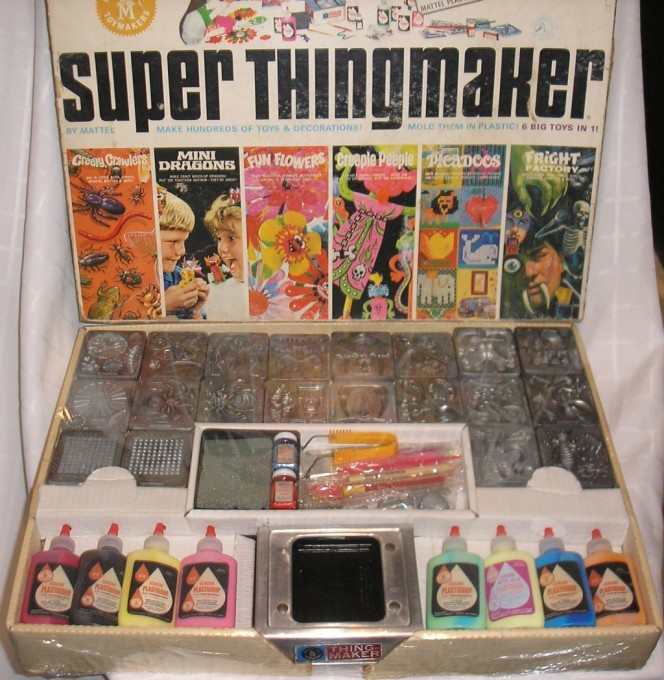 Super thing maker mattel