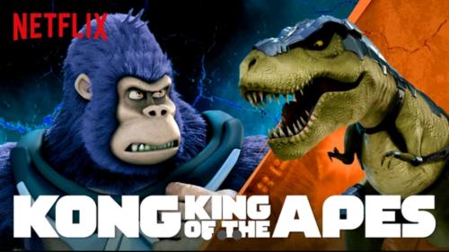 kong le roi des singes dessin anime netflix 2