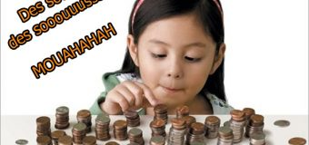 La question de l'argent de poche !
