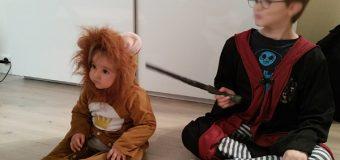 Les enfants, les déguisements et Halloween…