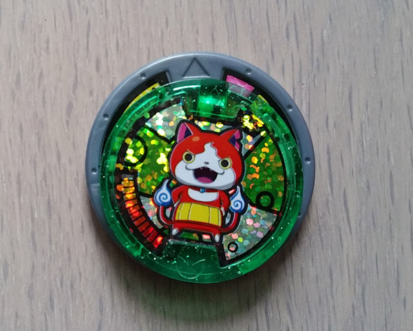 Test des jouets yo kai watch chinois pas chers quand on for Porte medaillon yo kai watch