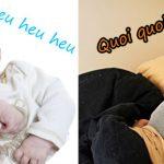 Bébé tousse… Papa à la rescousse !