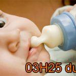 Bébé mange tout le temps !