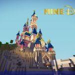 Disneyland Paris reproduit à la perfection dans Minecraft