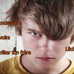 Histoire de ton, de caractère et de préadolescence