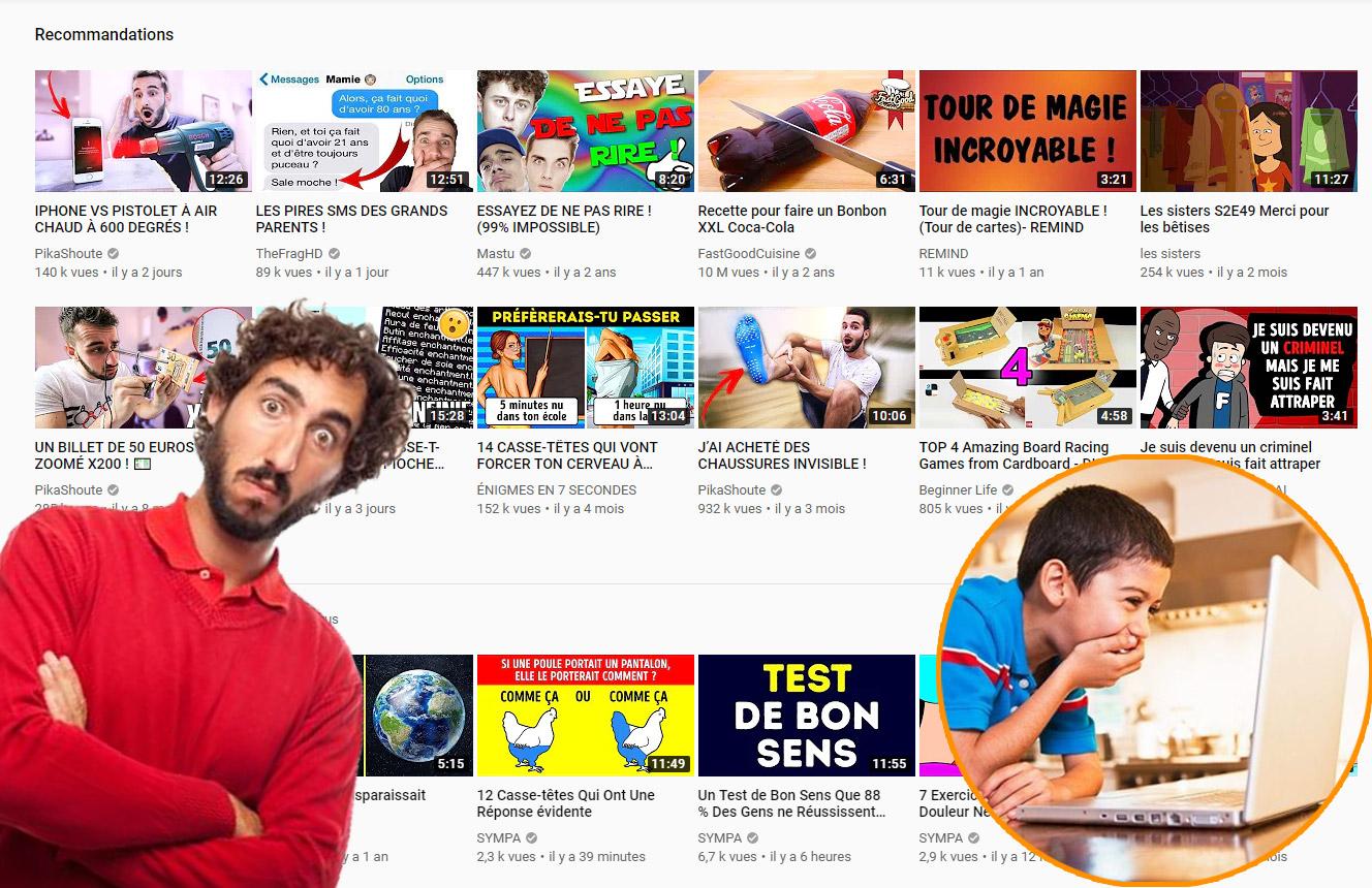Youtube Et Les Enfants Quand On Est Papa