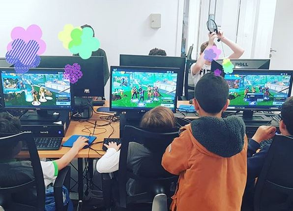 LAN ordinateurs enfants