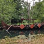 Visite du parc Ornavik qui présente l'histoire des Vikings en Normandie